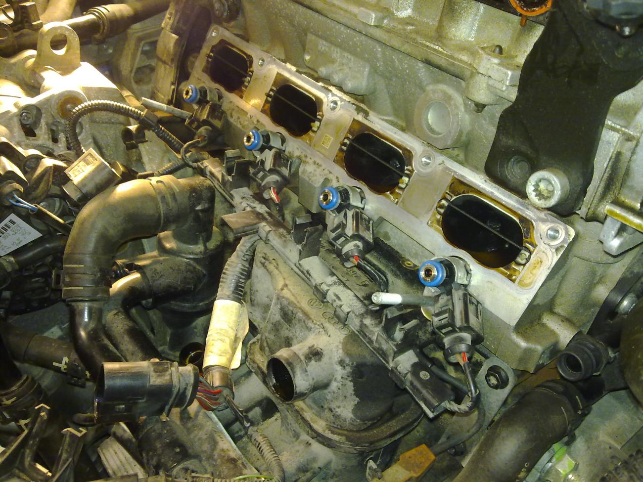Remove And Install Injector Vw Gti Forum Vw Rabbit
