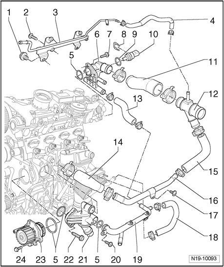 Engine Coolant Temperature Sensor - P2185 - VW GTI Forum