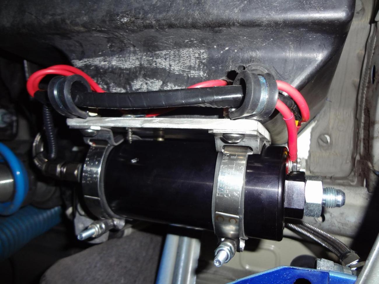 Attachment on Na Miata Fuel Pump Location