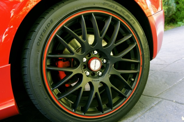18' LANSO TYPE-M WHEELS AND TYRES FOR SALE!! $700