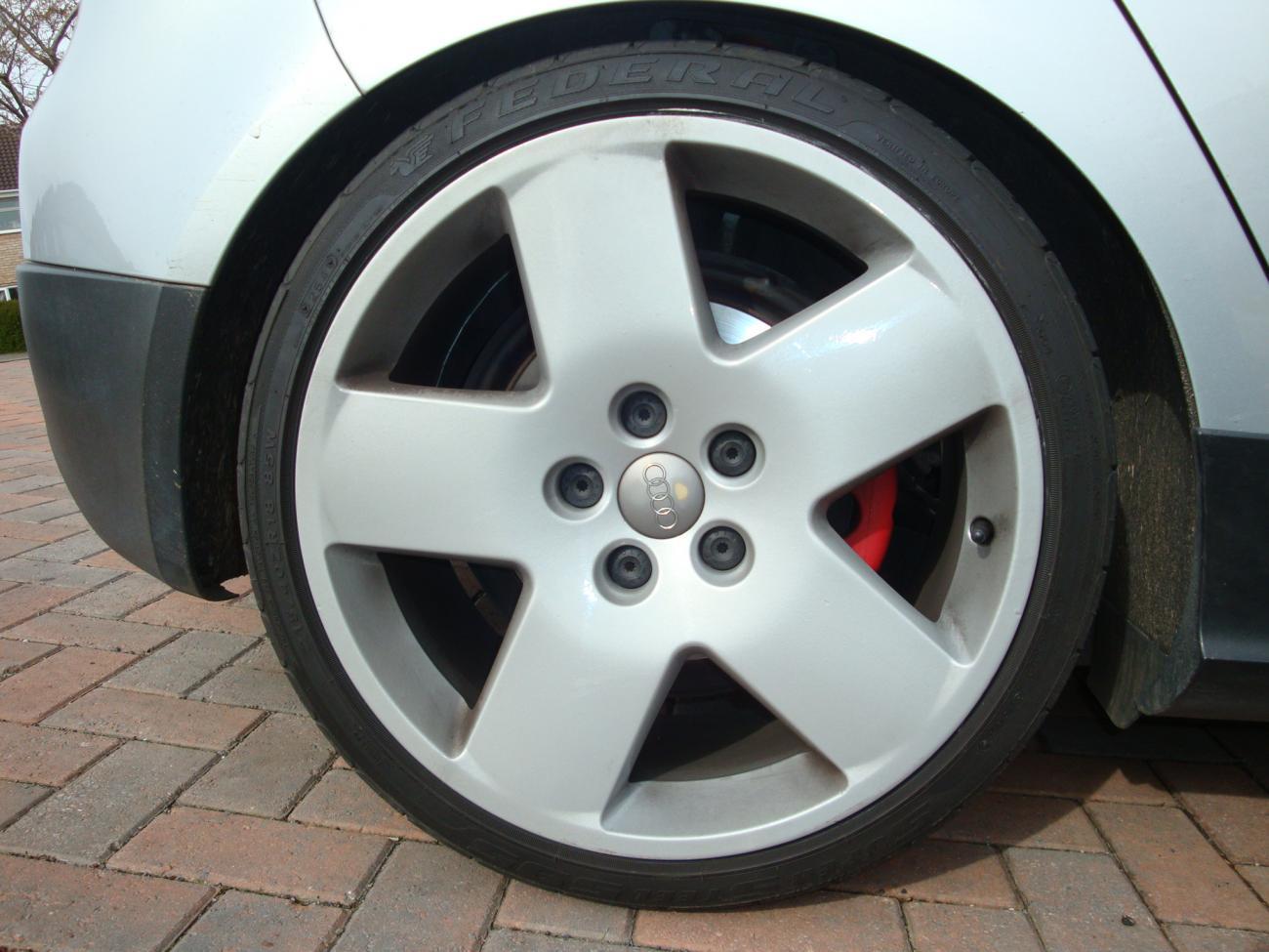 """18"""" audi fat fives FOR SALE - VW GTI Forum / VW Rabbit Forum / VW R32 Forum / VW Golf Forum ..."""