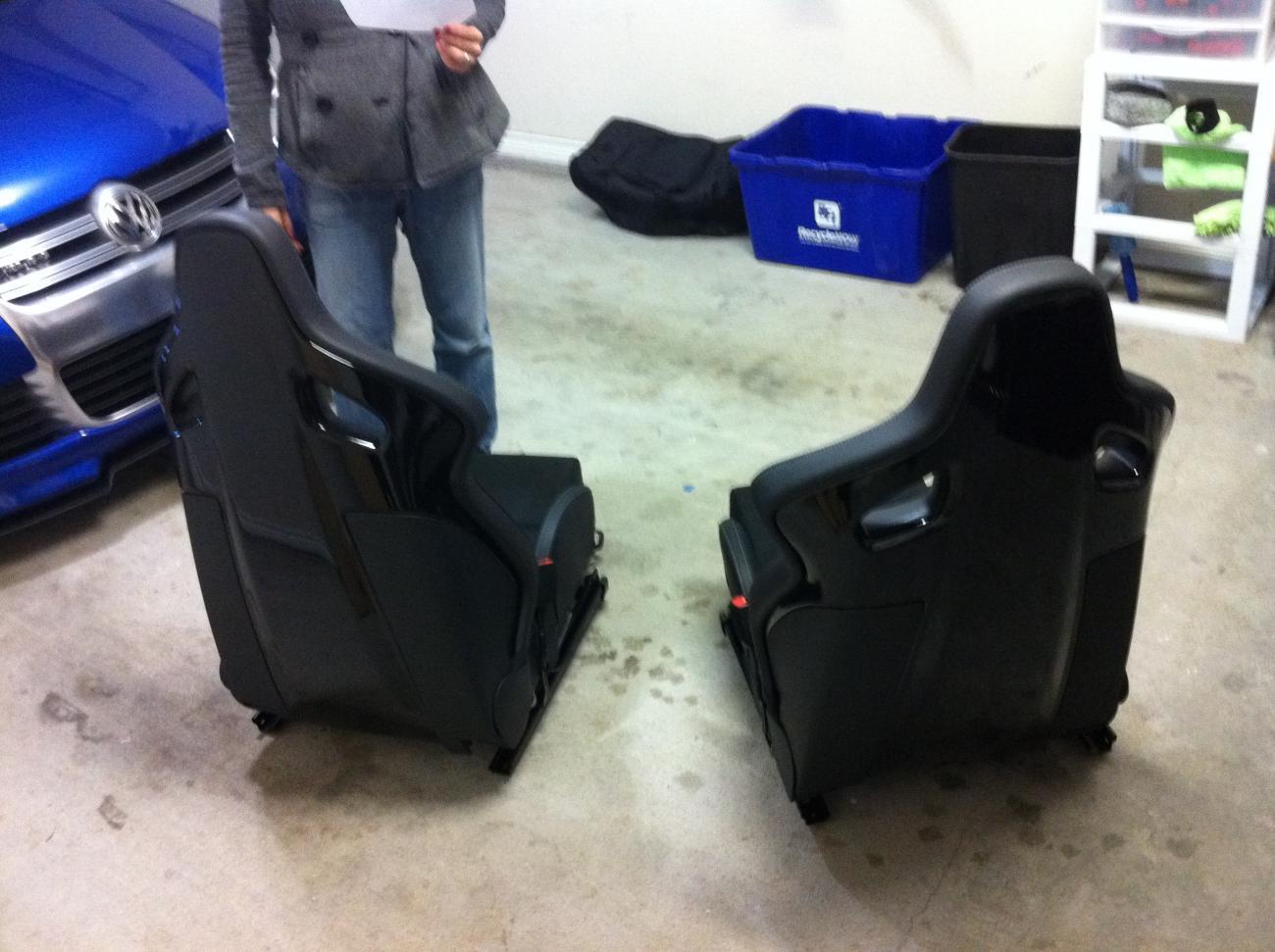 Vwvortex Com Fs New Golf R Recaro Bucket Seats