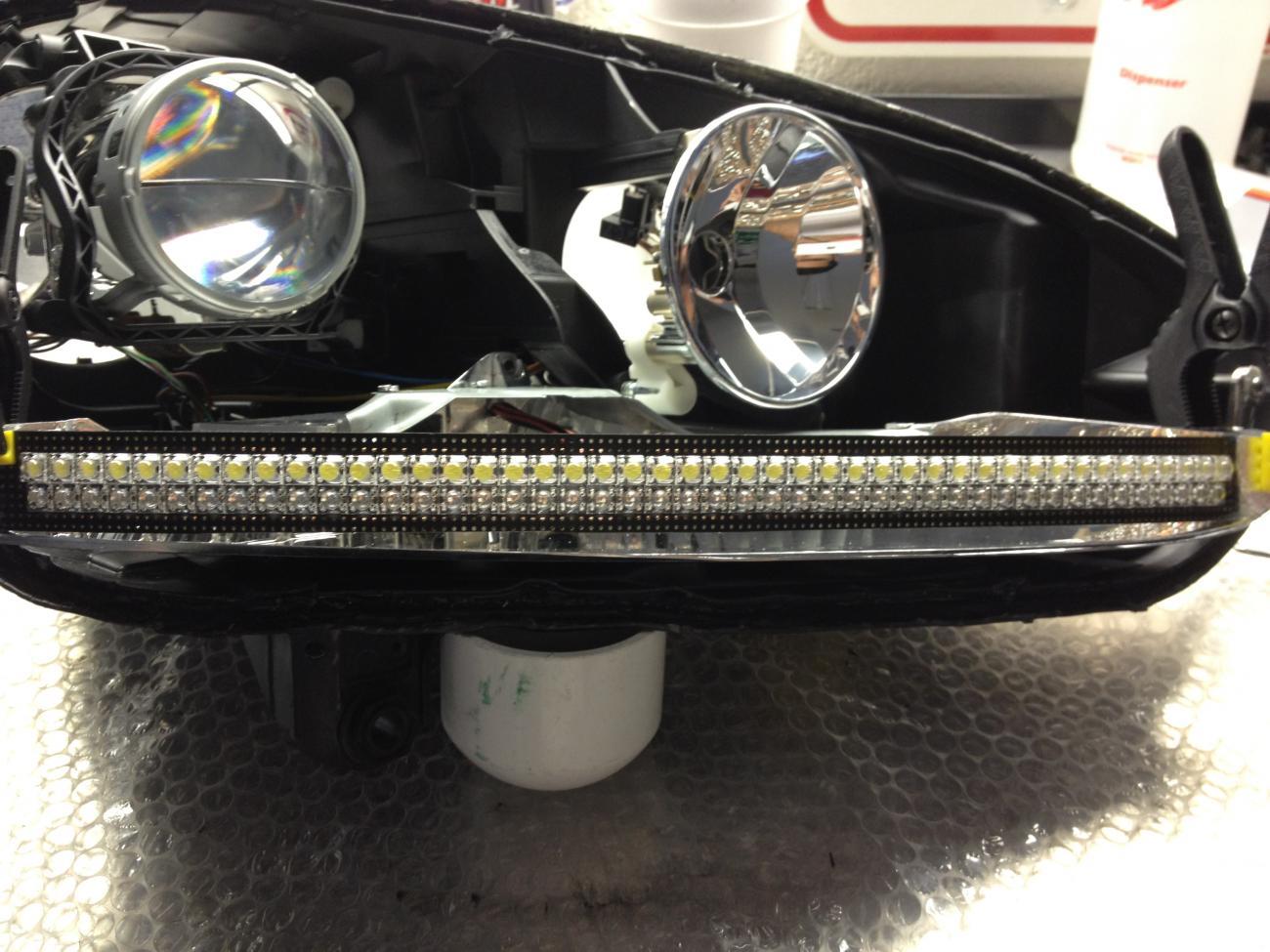 DIY - True Audi DRL with Turn Signals - VW GTI Forum / VW