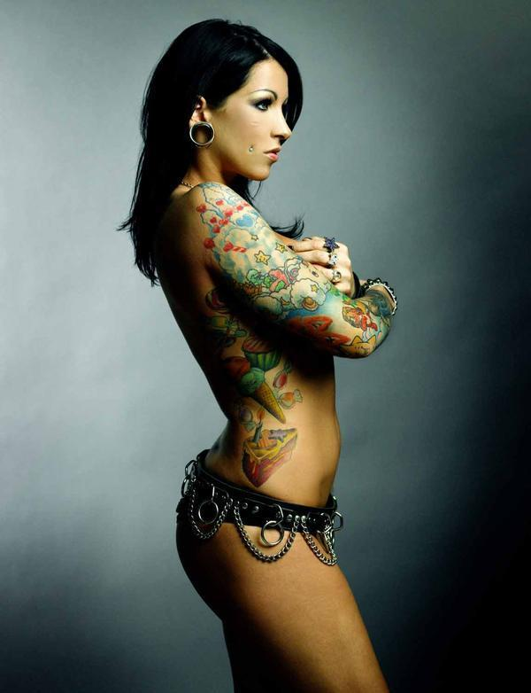 Girls with tattoos, love 'em or hate 'em?