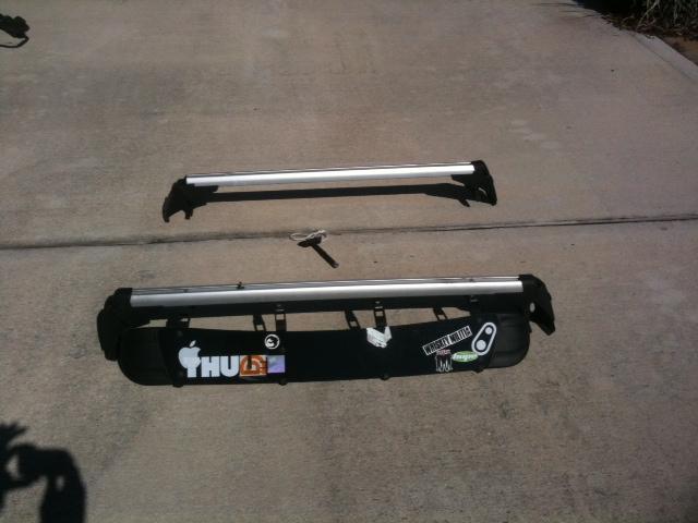2007 Oem Roof Rack For 4 Door Mkv Fairing 2 Thule Side